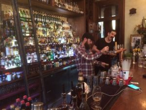 Hipster beard and mustache central at the Gresham Hotel