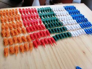 Kaner's 3D printed units