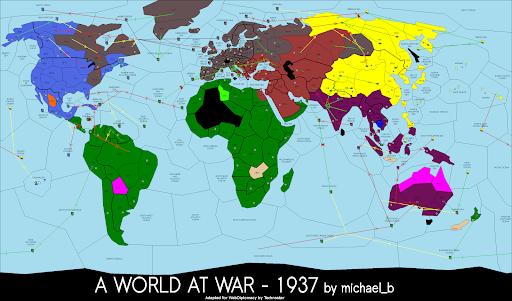 1937: A World At War - Diplomacy Game