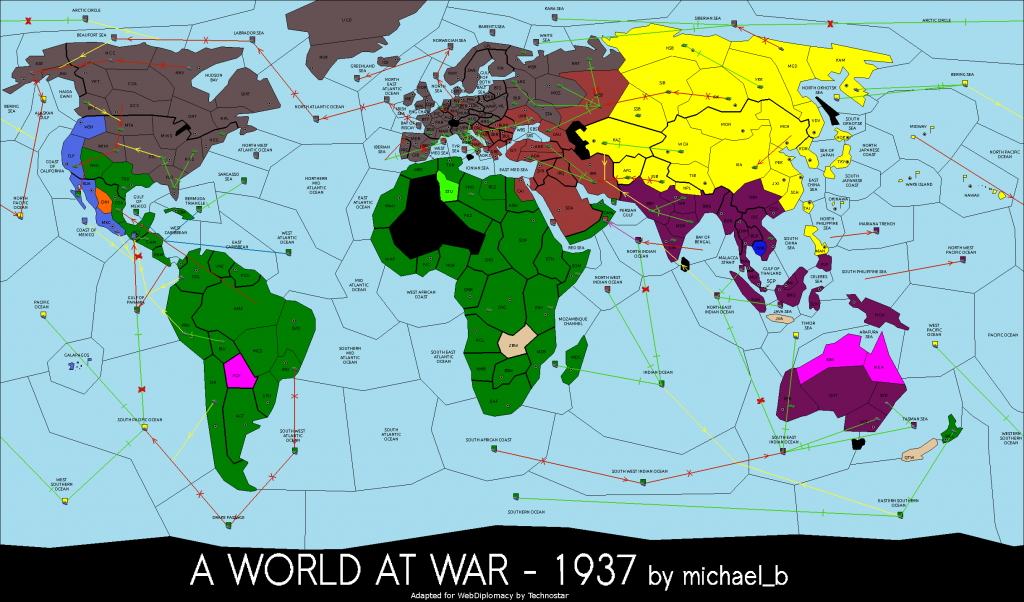 1937 a World at War game
