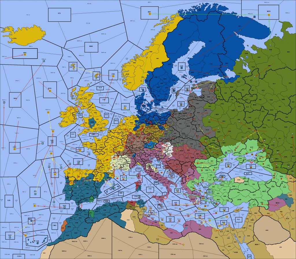Europa Renovatio map