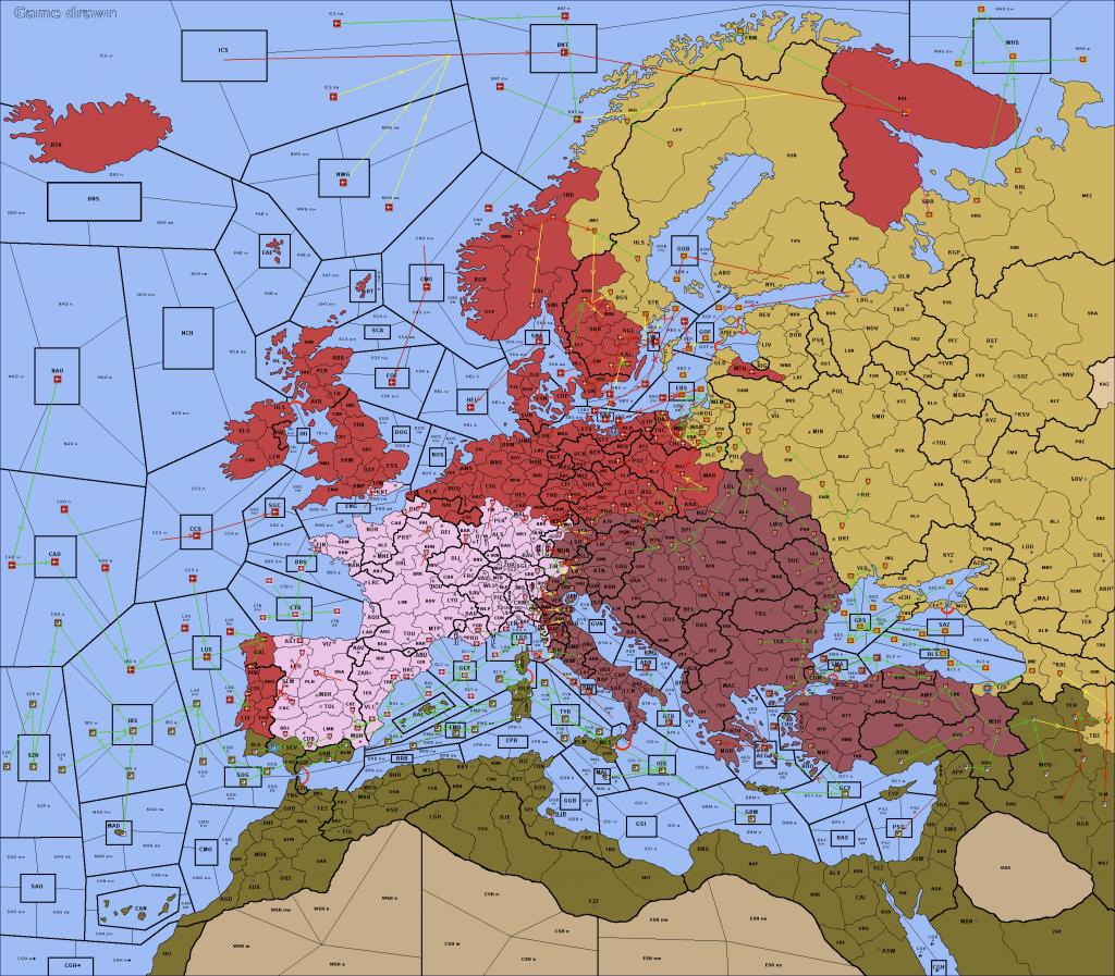 EUIV - Europa Renovatio Diplomacy game - final map