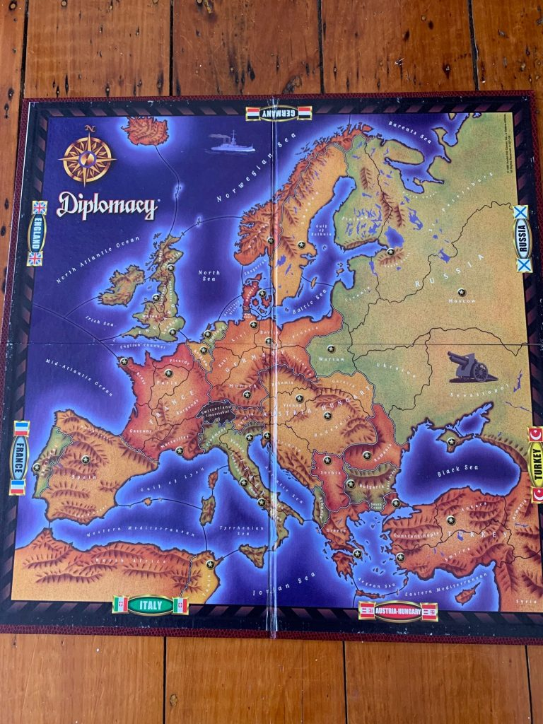 Diplomacy board - 4th edition