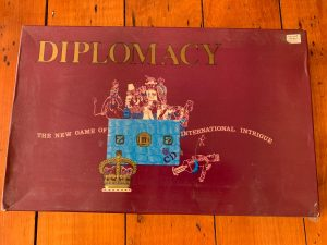 1971 Diplomacy edition box