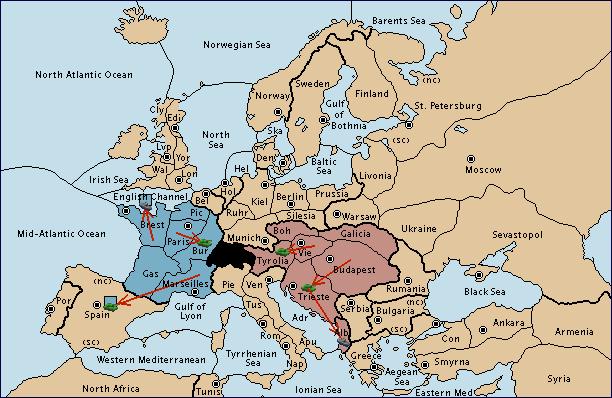 France vs Austria: Kaner vs Brother Bored spring 1901